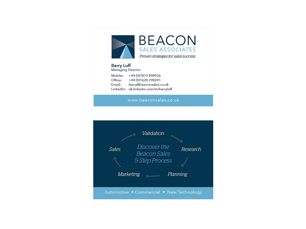Beacon Sales Associates business card