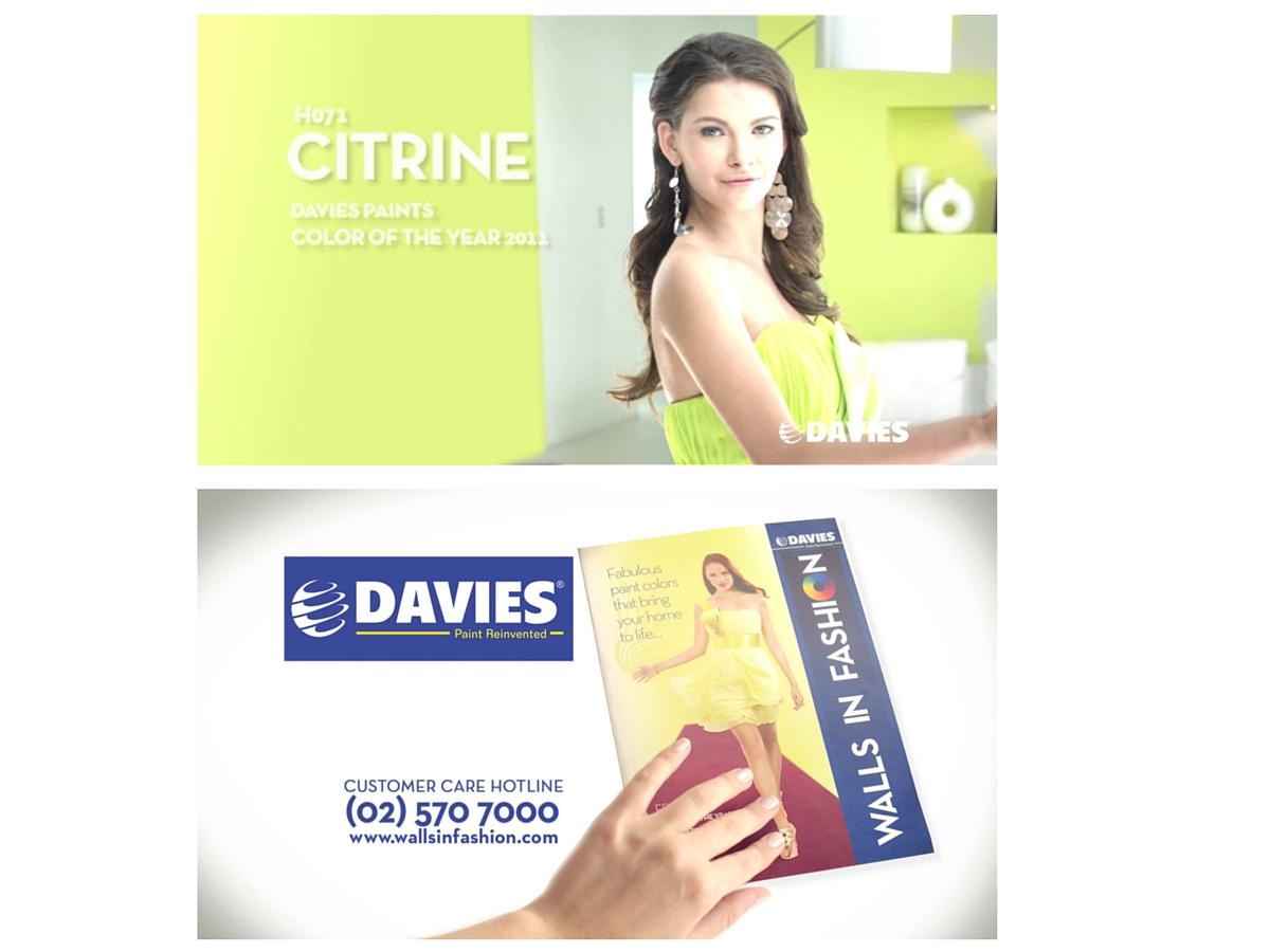 Walls in Fashion advertising