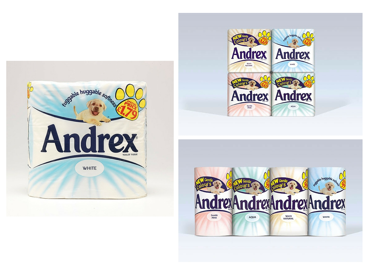 Andrex colours, names and packs(1)