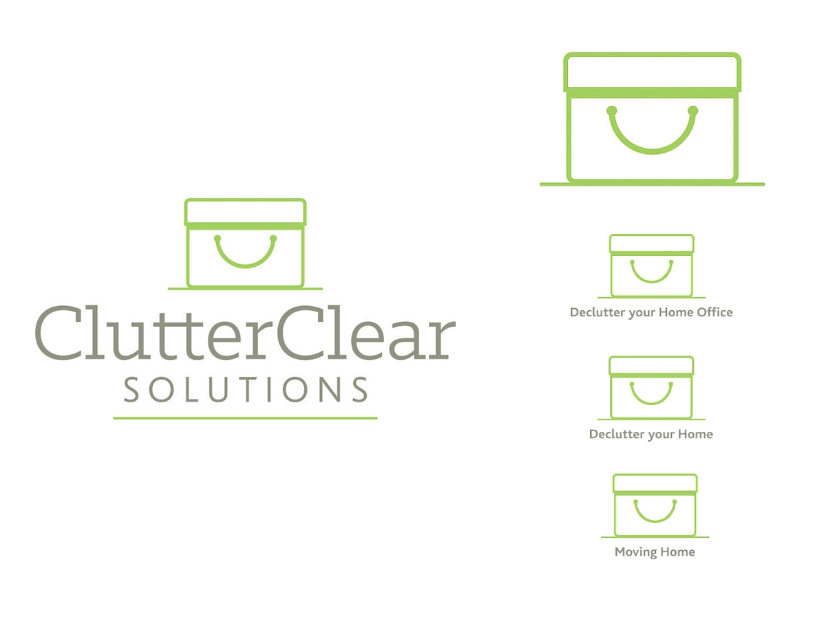 Clutter Clear Solutions brand icons