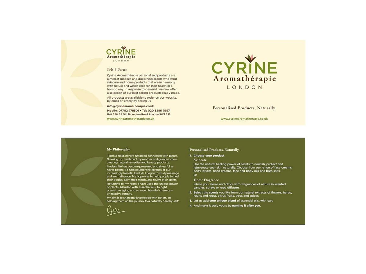 Cyrne Aromatherapie product card