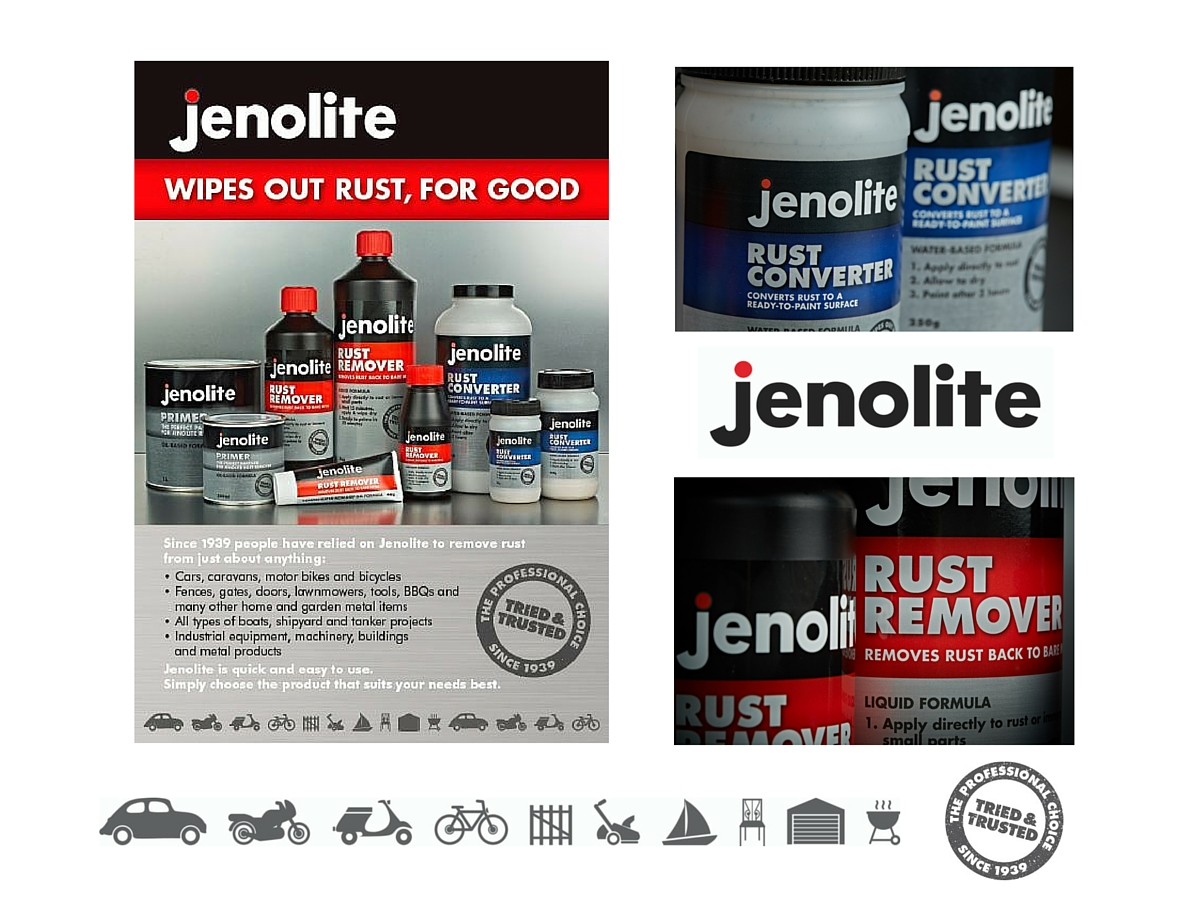Jenolite brochure and pack labels