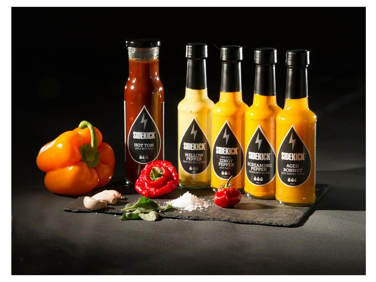 Sidekick sauce brand range