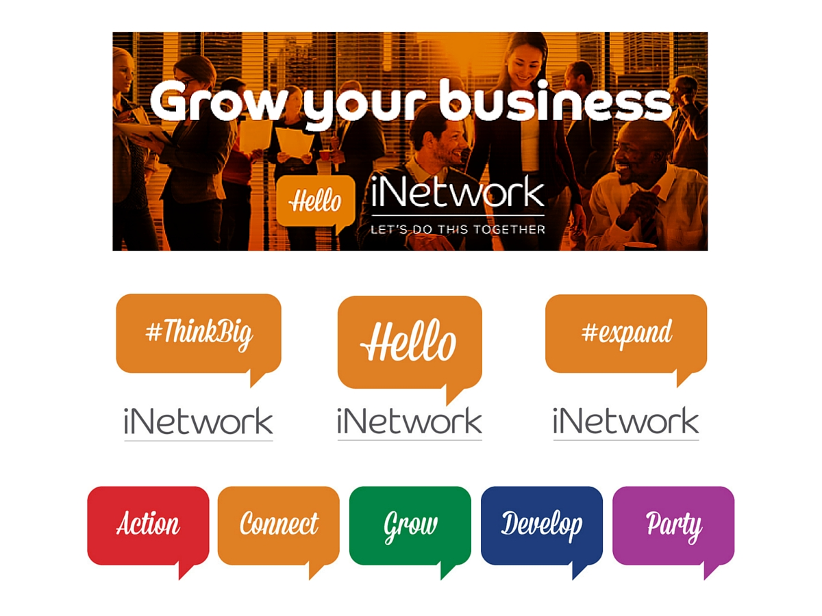 iNetwork social media icons