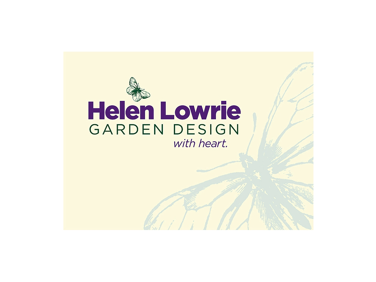 Helen Lowrie Garden Design branding