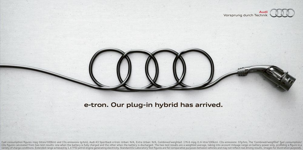 Audi brand strapline