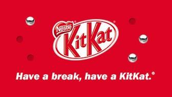 Kit Kat brand strapline