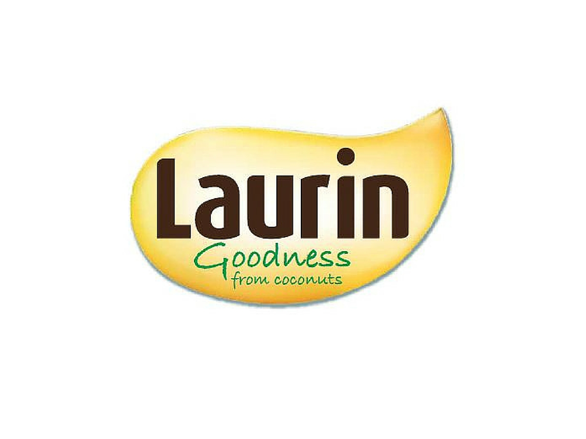 Laurin liquid coconut oil logo
