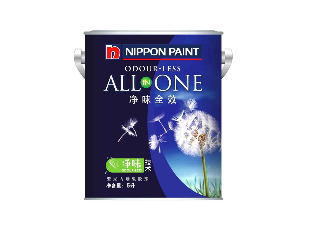 Nippon Paint dandelion pack design
