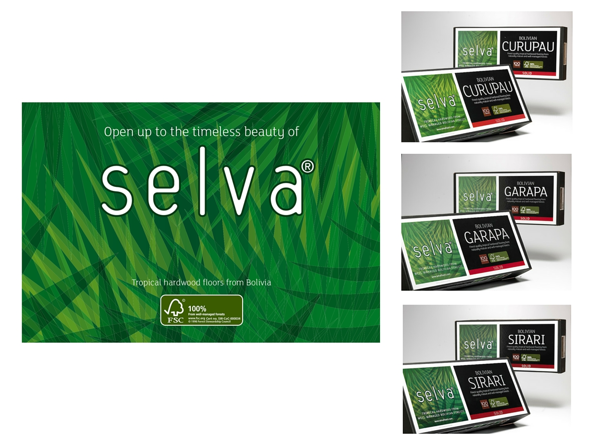 Selva wood FSC packaging