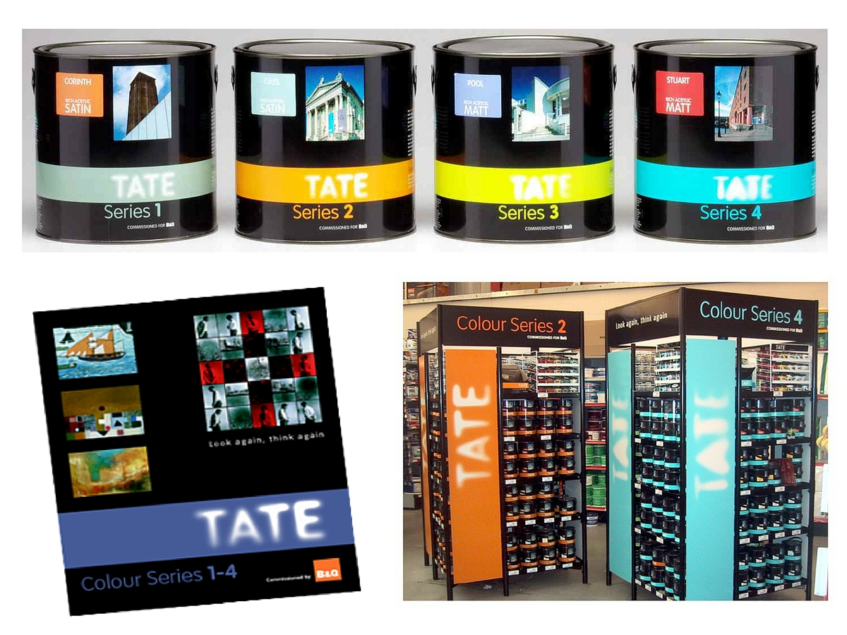 Tate paint and wallpaper ranges