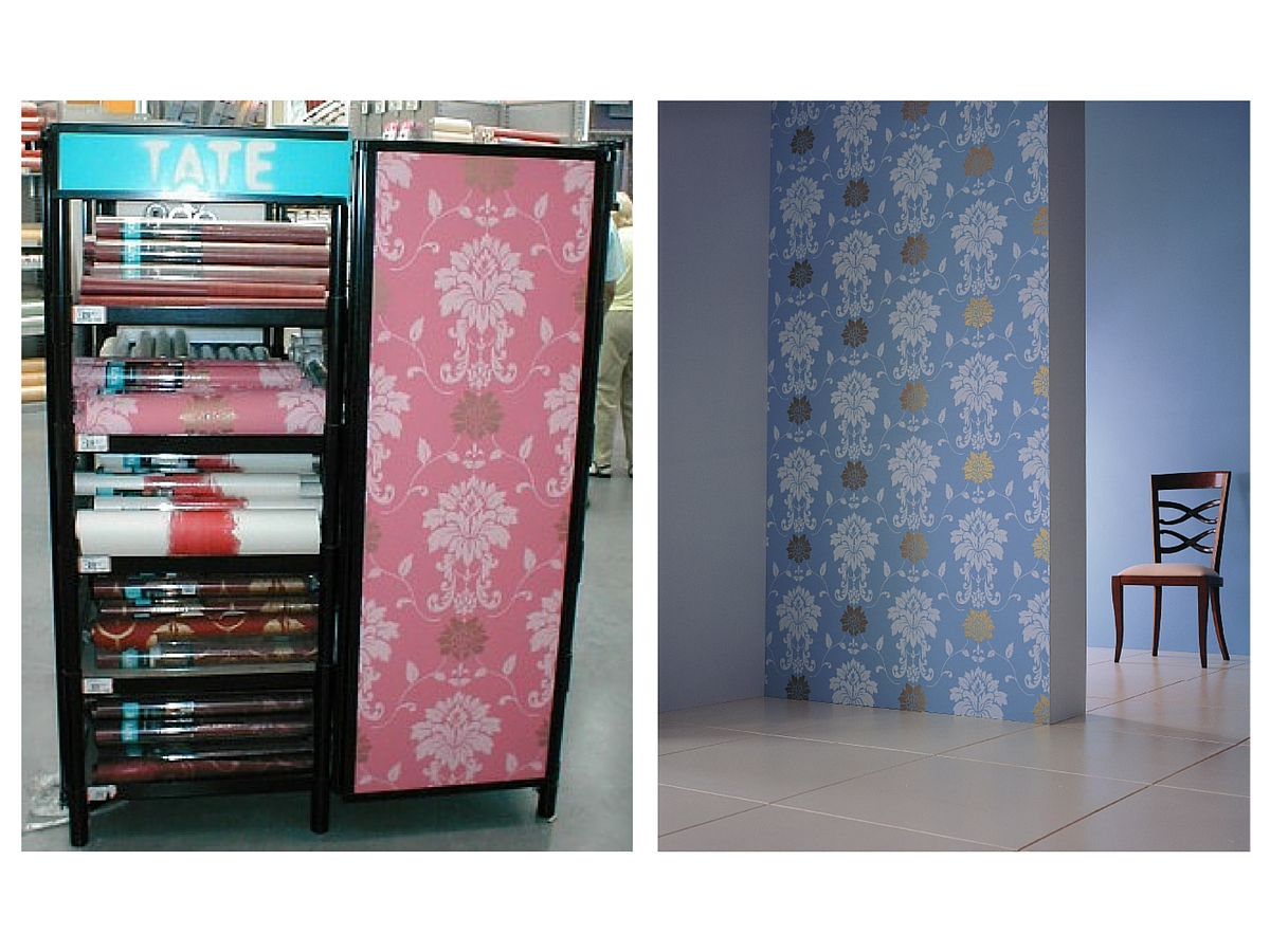 Tate wallpaper merchandising point of sale