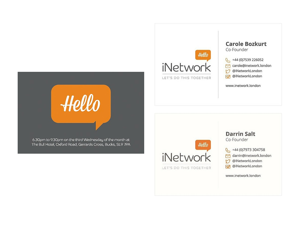 iNetwork business cards