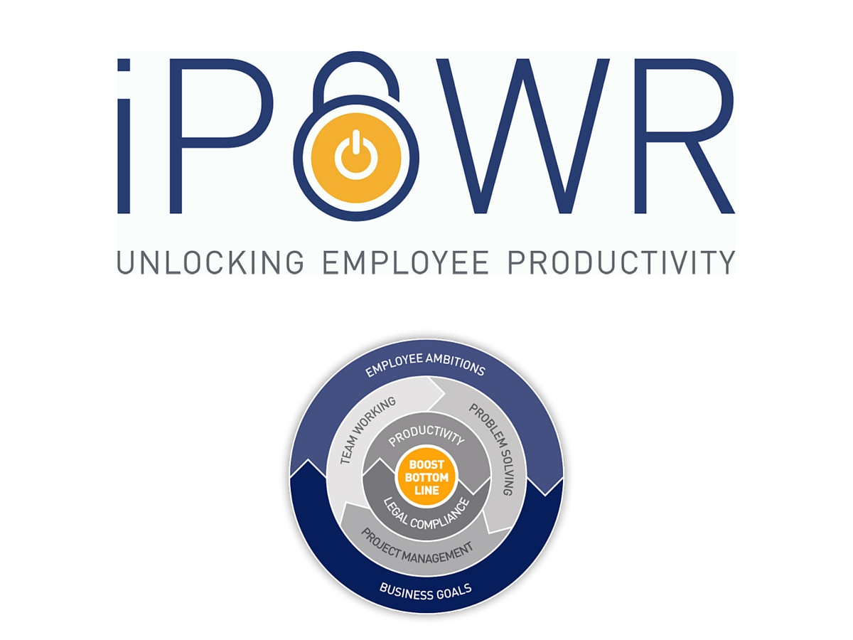 iPOWR brand logo and diagram