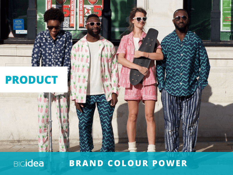 use colour to build your brand product colours