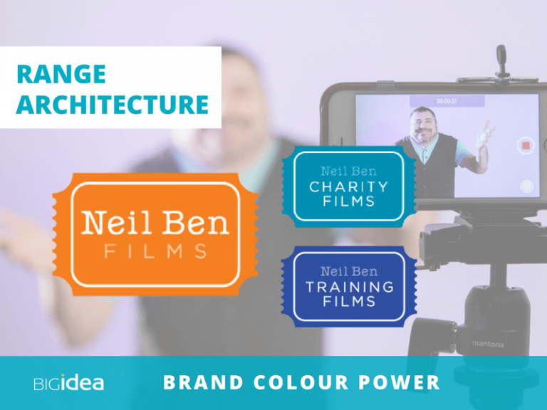 use color to build your brand architecture