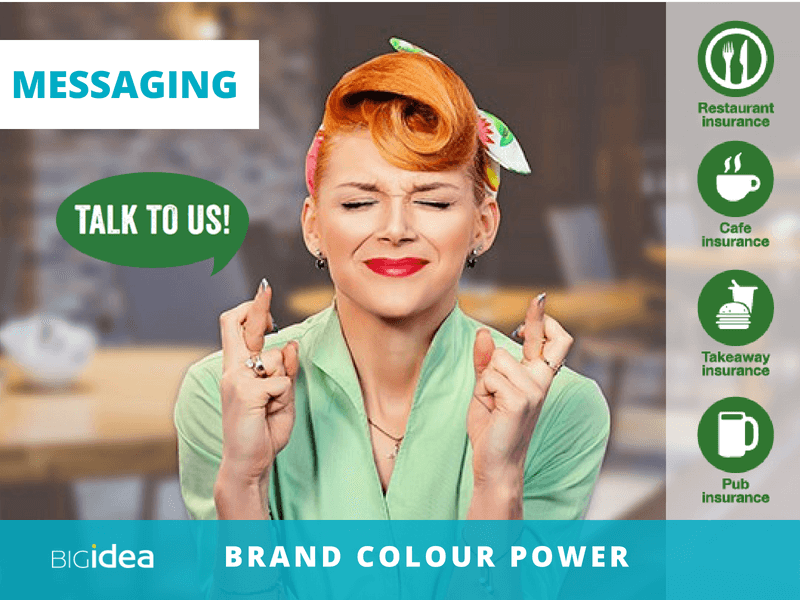 use colour ot build your brand with brand messaging