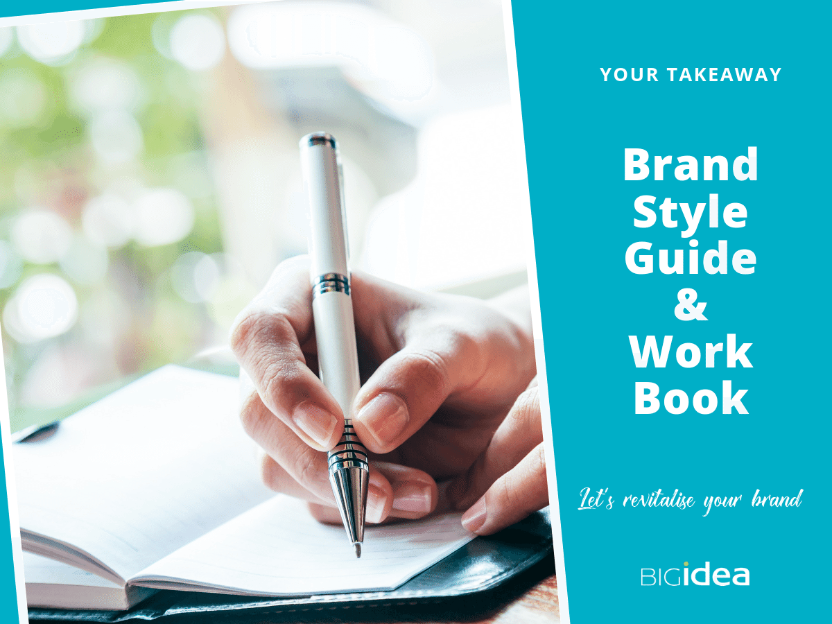 Work Book and Style Guide Brand Personality Workshop