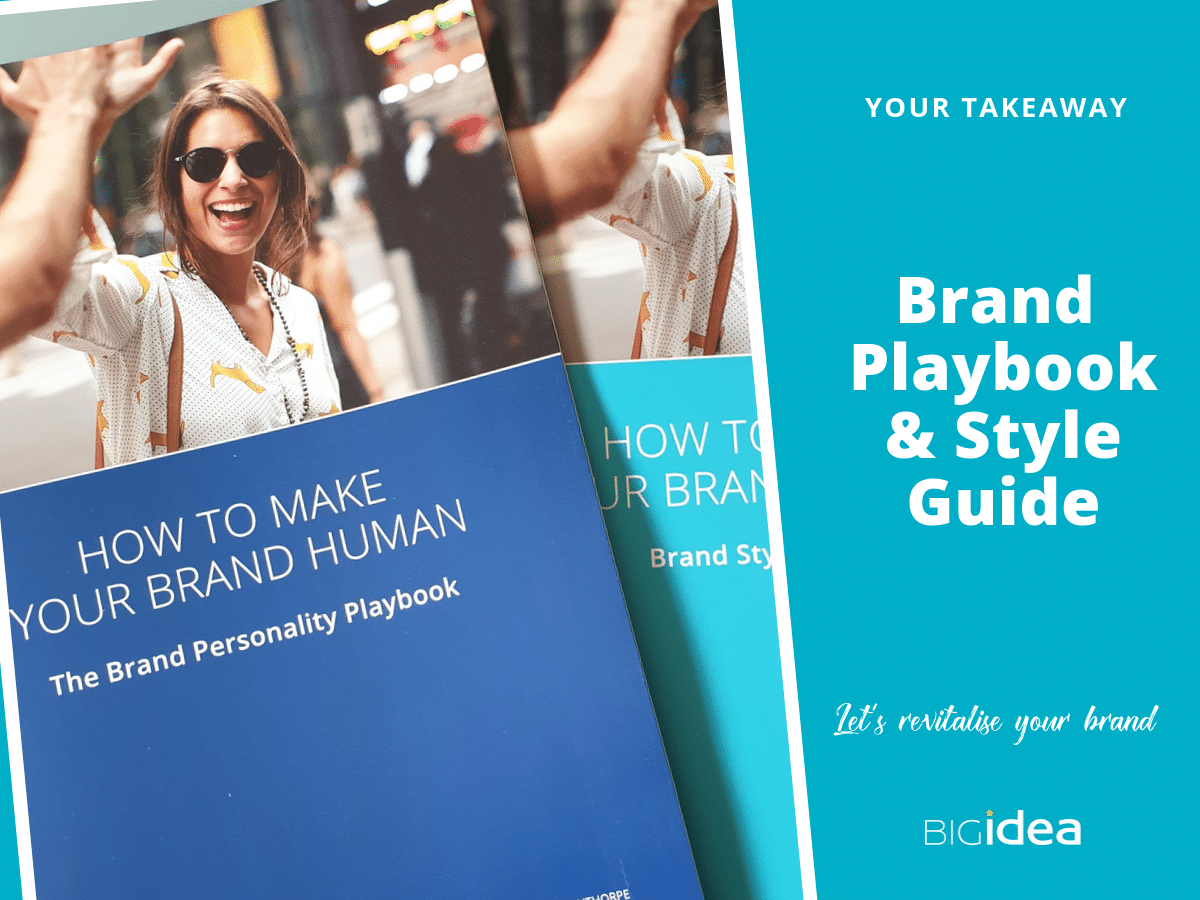 brand pesonality workshop playbook and style guide