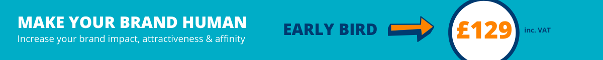 Brand personality Workshop Early Bird fees