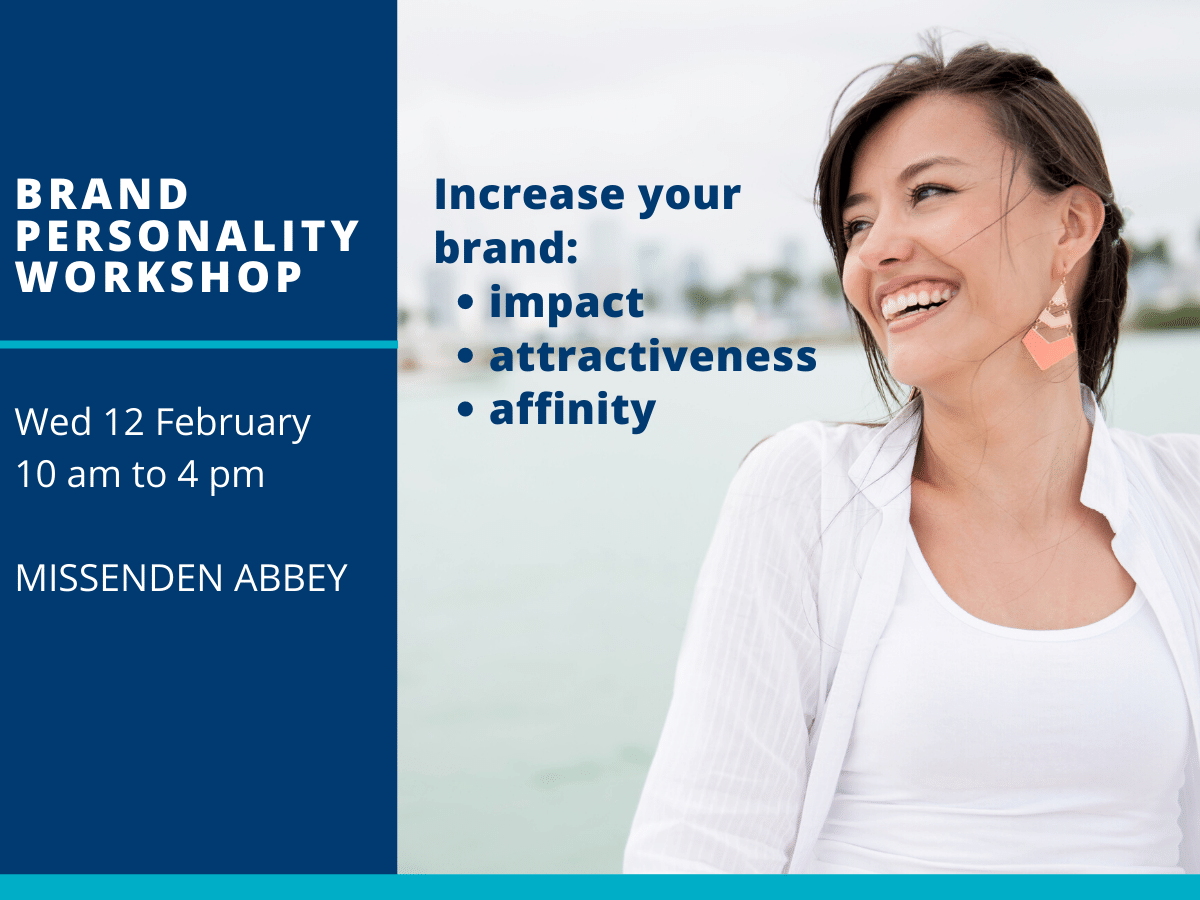Brand personality workshop 12 feb