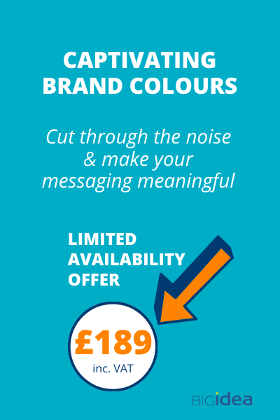 £189 Captivating brand colours offer price
