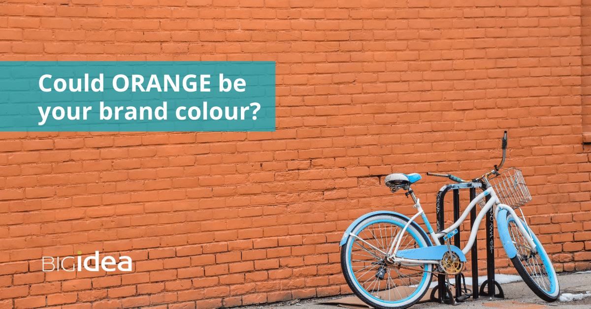 Could Orange be your brand colour?