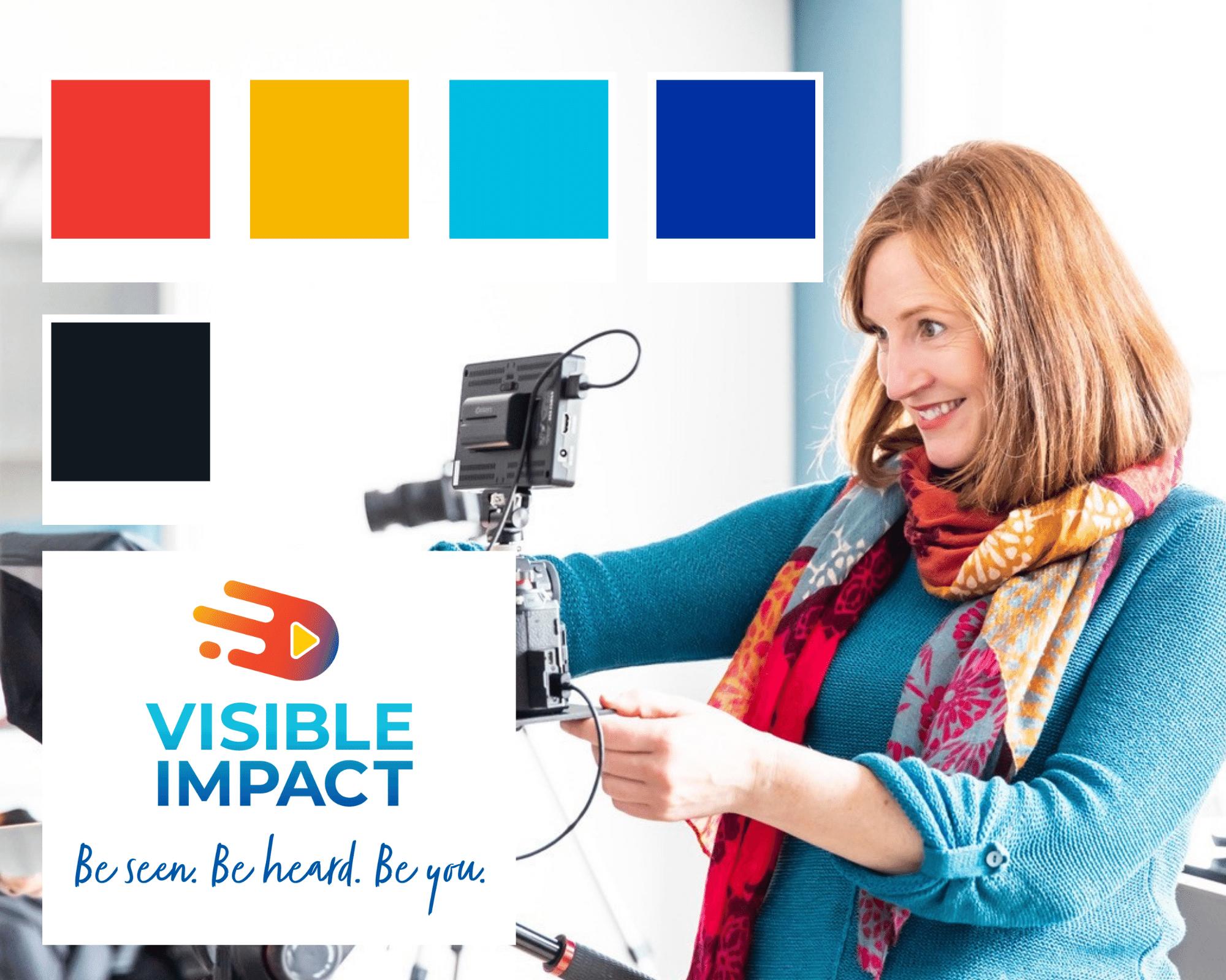 Visible Impact colour palette