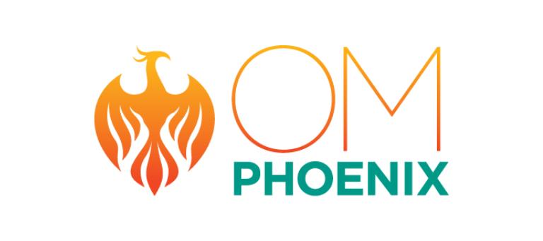 OM Phoenix branding