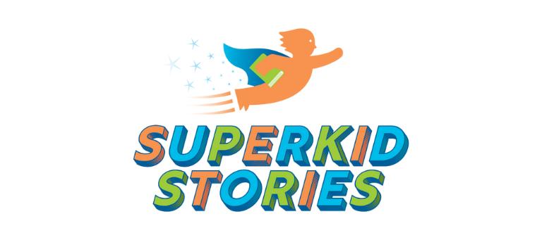 Superkid Stories branding