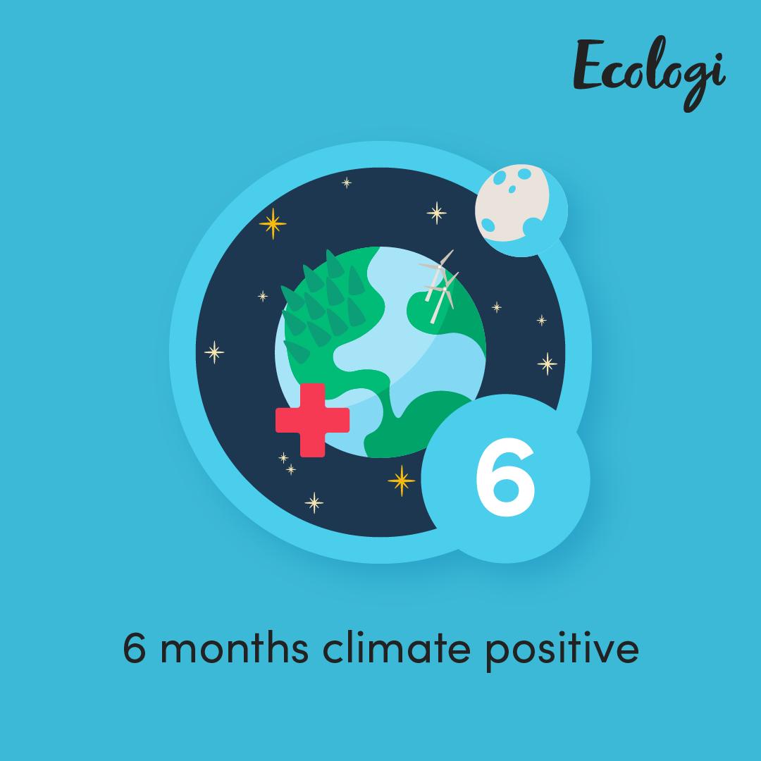 Ecologi badge 6 months
